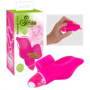 SMILE Little Dolphin - ujj vibrátor (pink) - 7 490 Ft